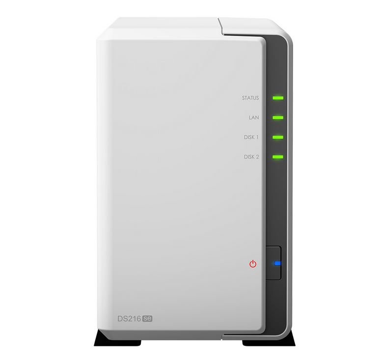 Synology DS216se front
